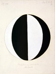 The Mahatmas Present Standing Point, Series II, No. 2a - Hilma af Klint