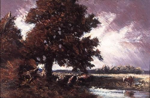 Study for Red Oak, 1917 - Homer Watson