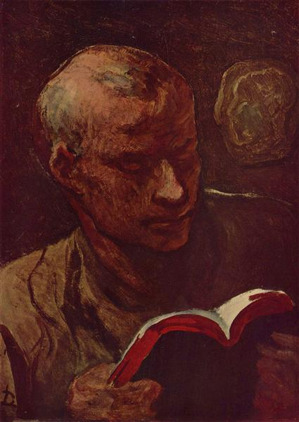 The Reader - Honore Daumier