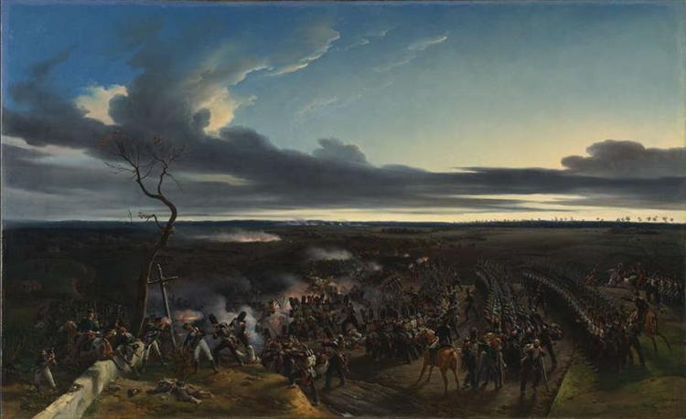 The Battle of Montmirail, 1822 - Horace Vernet