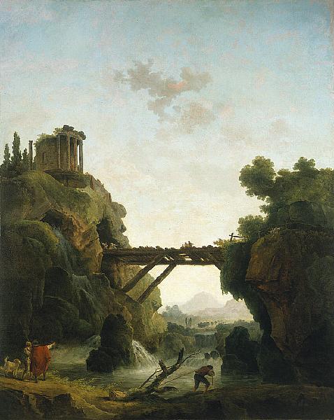 Fantastic View of Tivoli, 1789 - Hubert Robert