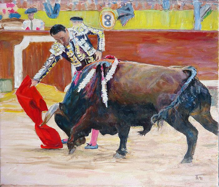 Pepin Liria in bullring - Hubertine Heijermans
