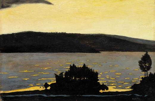 Spring Evening During the Ice Break, 1897 - Hugo Simberg