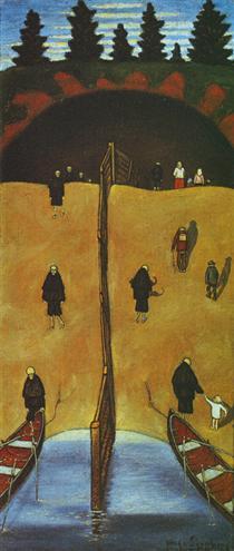 Hugo Simberg - 25 obras de arte - pintura