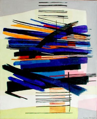 Composition II, 1955 - Huguette Arthur Bertrand