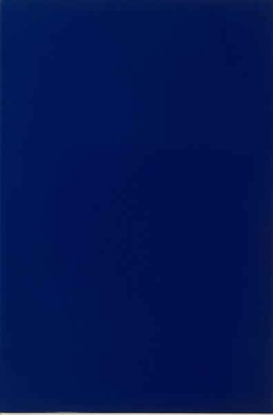 Blue Reflex, 1967 - Ian Burn