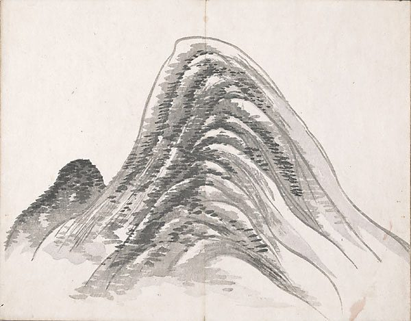 Untitled (Two Mountains) - Ike no Taiga