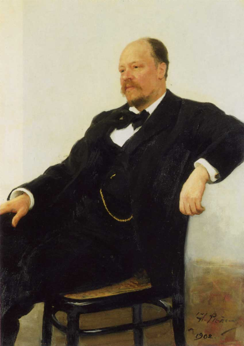 Anatoly Lyadov Portrait of the composer Anatoly Konstantinovich Lyadov