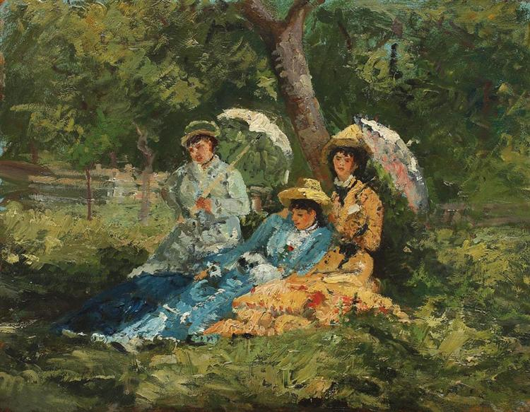 In the Park - Ion Andreescu