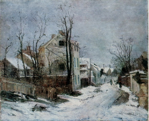 Winter at Barbizon - Ion Andreescu