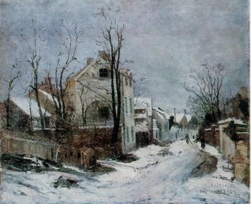 Winter at Barbizon
