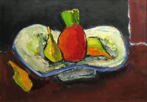 Still Life With Pineapple - Ion Pacea