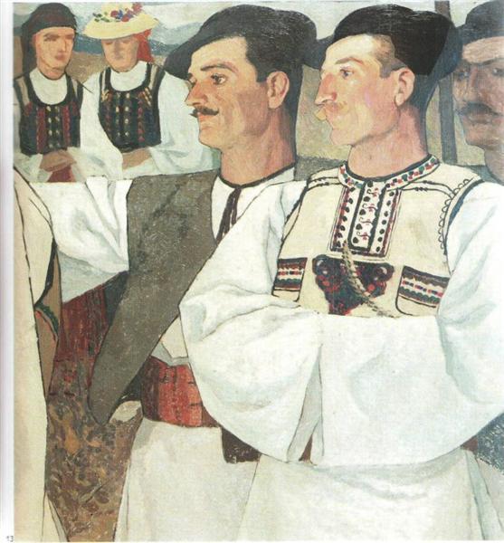 Peasants of Abrud, 1913 - Ion Theodorescu-Sion