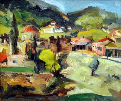 Daphne Monastery, 1939 - Ion Tuculescu
