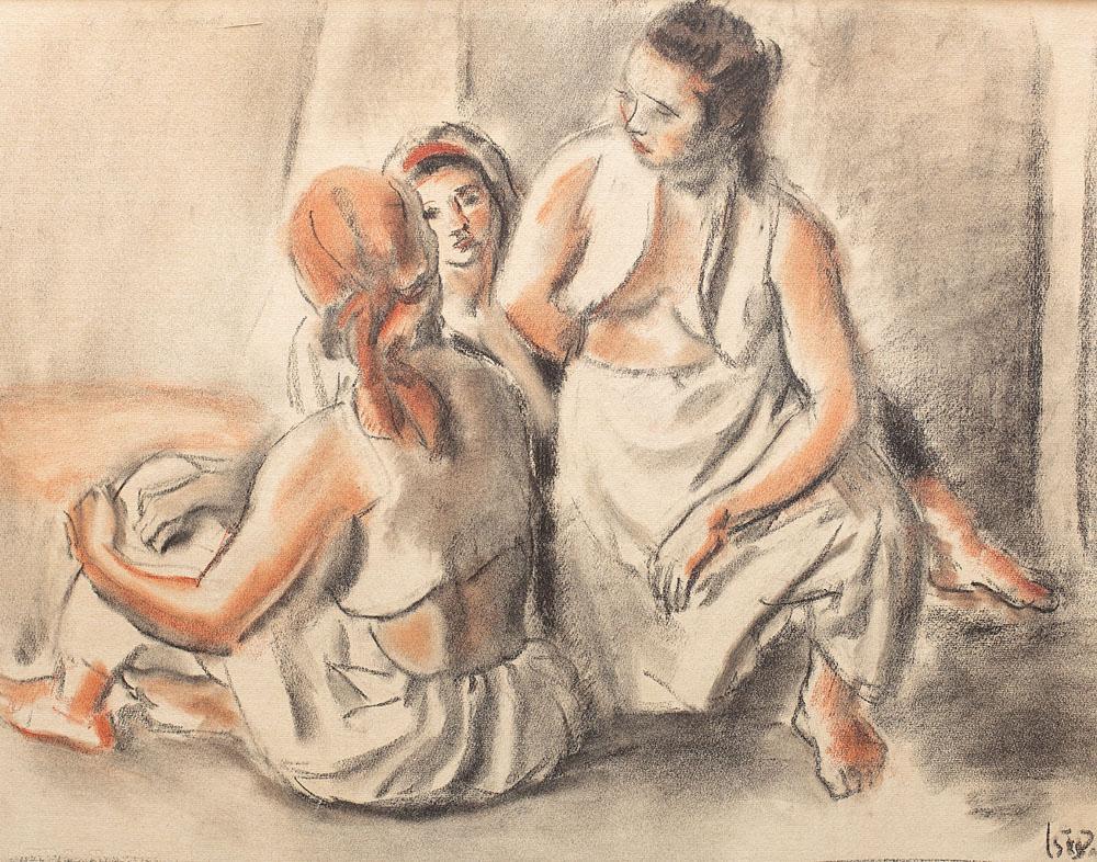 Odalisques, 1940
