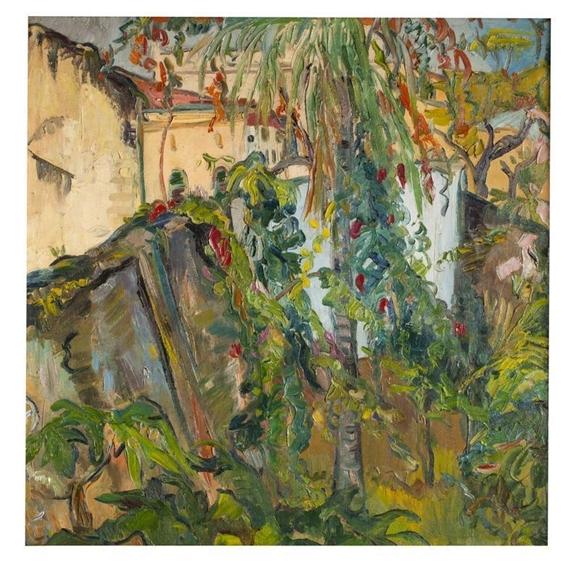 Irma Stern The Hunt Zanzibar Garden Irma Stern