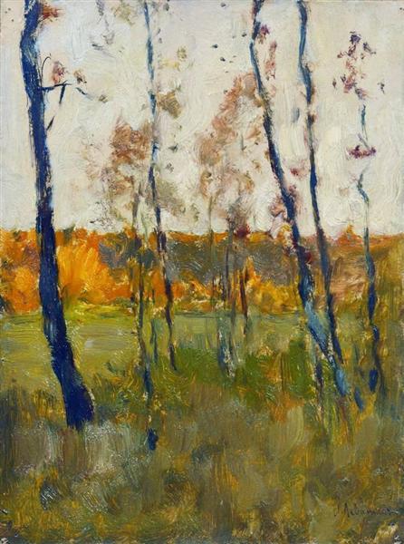 Autumn, 1899 - Isaac Levitan