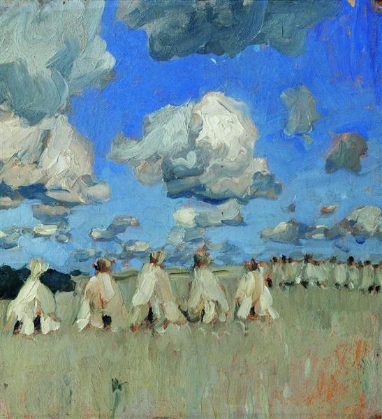 Haystacks - Isaac Levitan