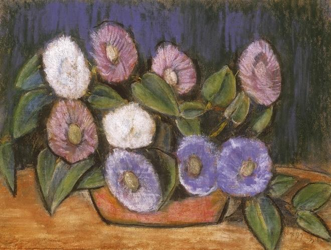 Still life with flowers - Istvan Nagy