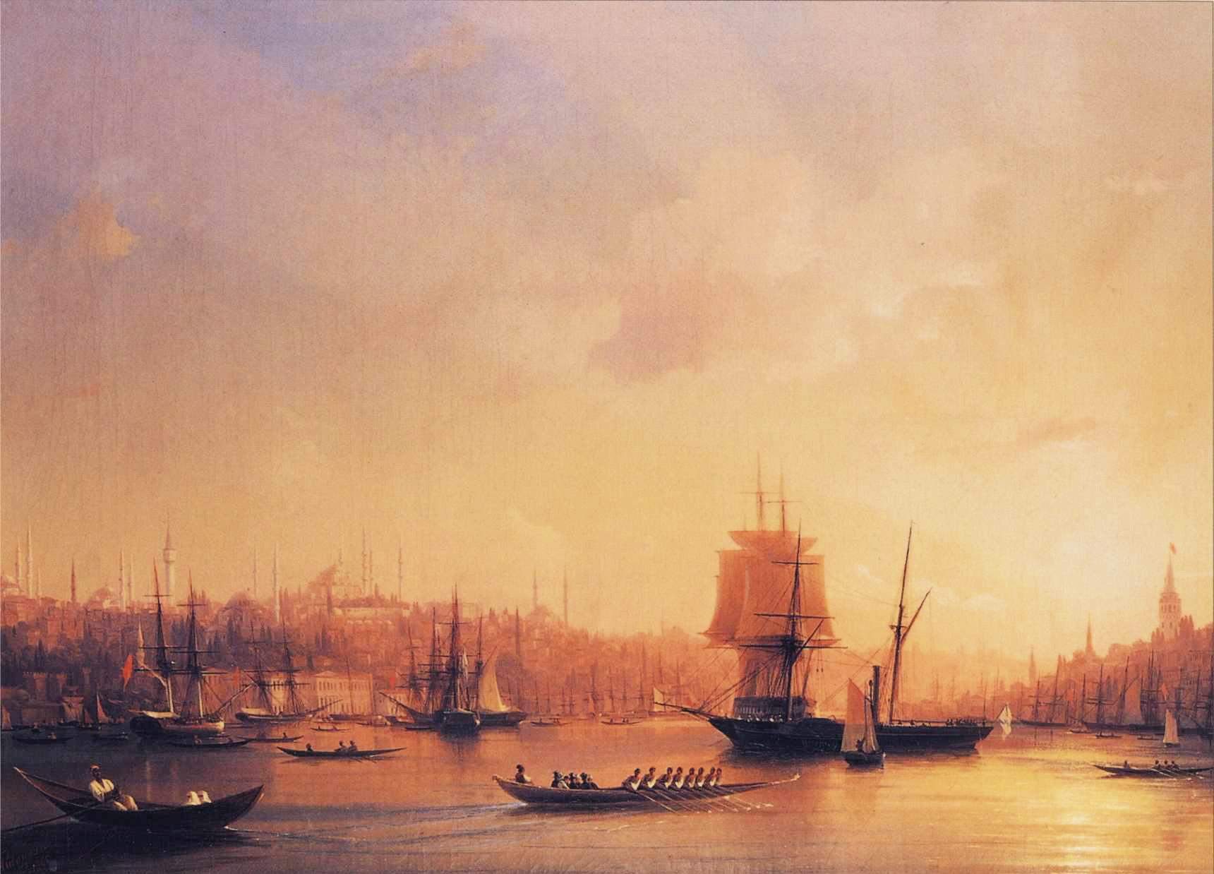 Dusk on the Golden Horn, 1845