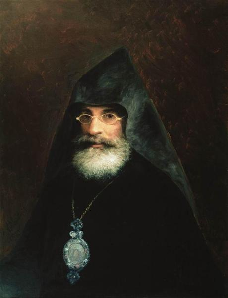 Portrait of Gabriel Aivazian, the Artist's brother, 1883 - Ivan Aivazovsky
