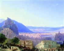 Vista di Tiflis - Ivan Aivazovsky