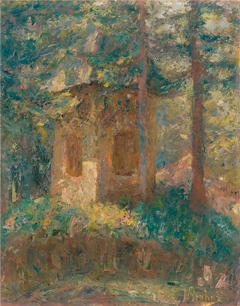 Chapel, 1907 - Ivan Grohar