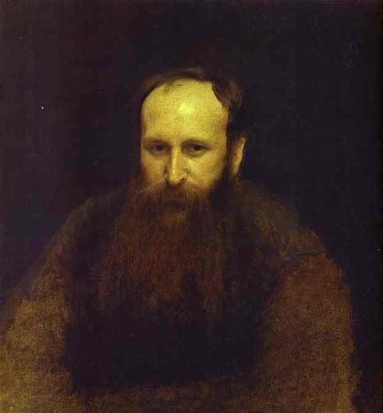 Portrait of the Artist Vasily Vereshchagin, 1883 - Ivan Kramskoy