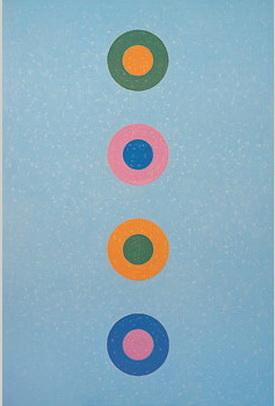 Série Geomântica, 1972 - Ivan Serpa