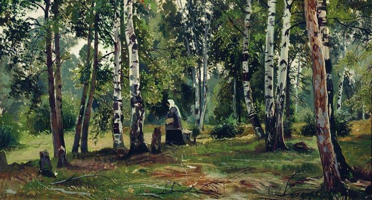 Birch Grove - Ivan Shishkin