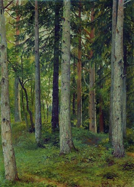 Forest, 1897 - Iván Shishkin