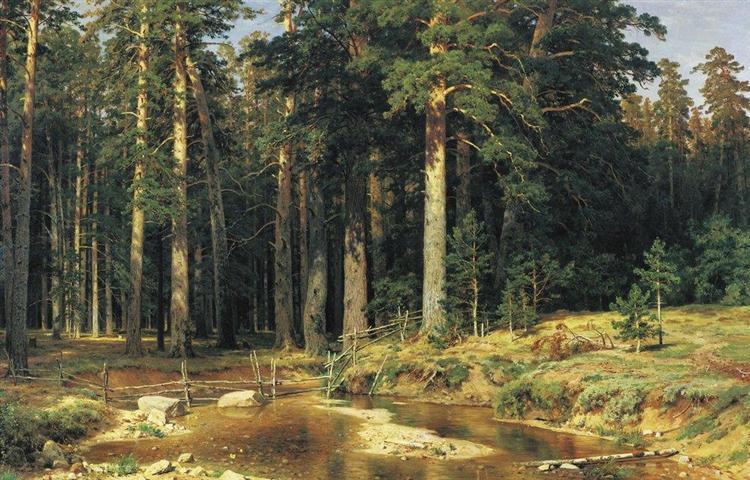 Mast Tree Grove, 1898 - Iván Shishkin