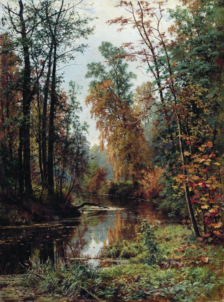 Park In Pavlovsk 1889 Ivan Shishkin Wikiart Org