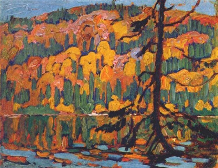 Autumn Algoma, 1918 - J. E. H. MacDonald