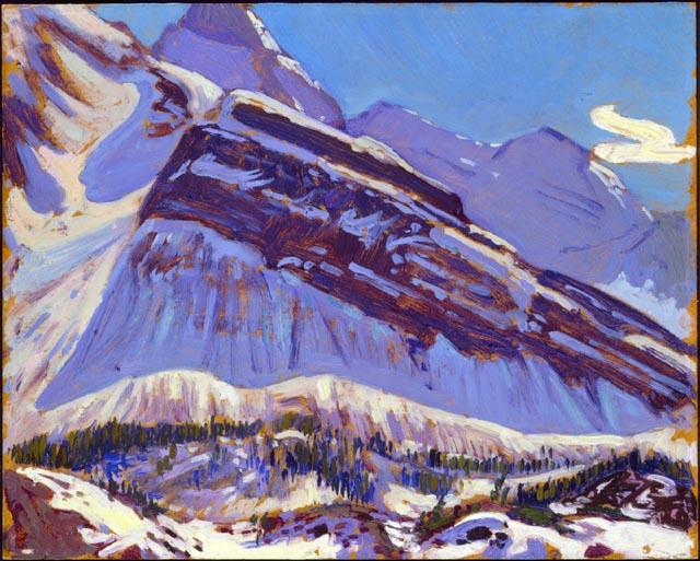 September Snow on Mount Schaffer, 1929 - J. E. H. MacDonald