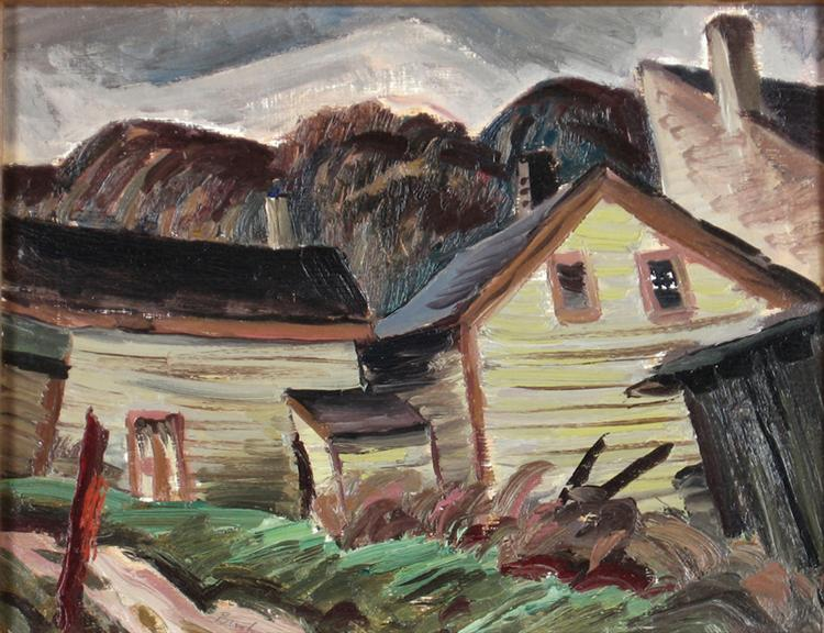 Backyard, Haliburton, 1944 - Jack Bush