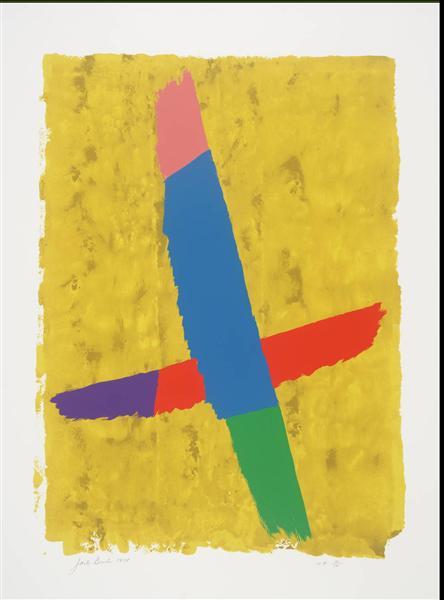 Cross Over, 1974 - Jack Bush