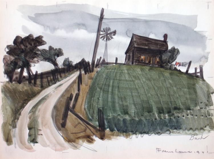 Farm House, 1941 - Jack Bush
