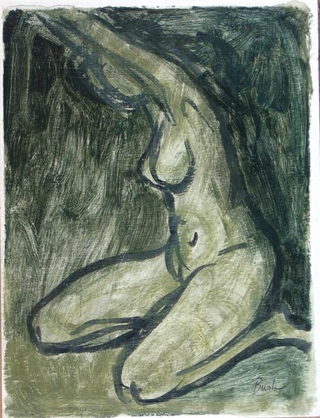 Nude Study, 1949 - Jack Bush