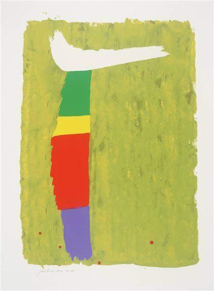 White Flip, 1974 - Jack Bush