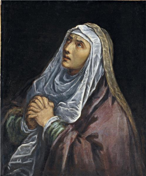 Mater Dolorosa, 1580 - Jacopo Bassano