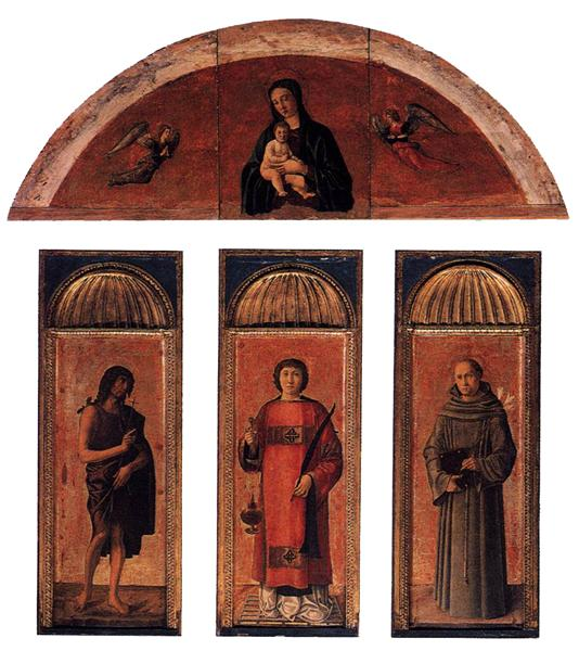 Triptych of St Lawrence - Jacopo Bellini