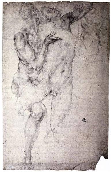 Two nudes, c.1525 - Jacopo Pontormo