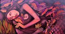 Mermaid in Lotus Pond IV - Jahar Dasgupta