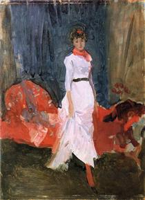Arrangement in Pink, Red and Purple - James McNeill Whistler
