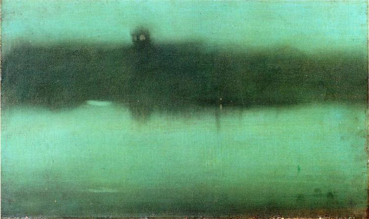 Nocturne Grey and Silver, 1873 - 1875 - James McNeill Whistler