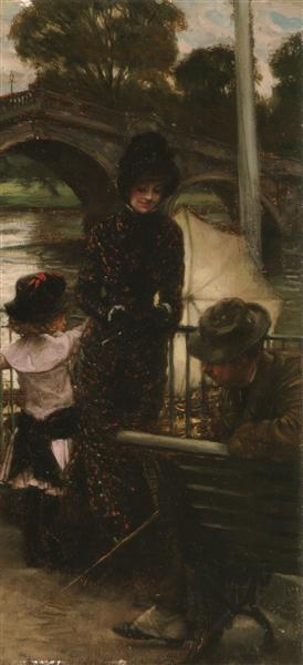 A Declaration of Love - James Tissot