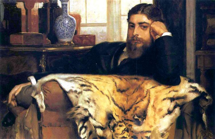Algeron Moses Marsden, 1877 - James Tissot