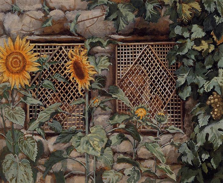 Behold He Standeth behind Our Wall, 1886 - 1894 - James Tissot