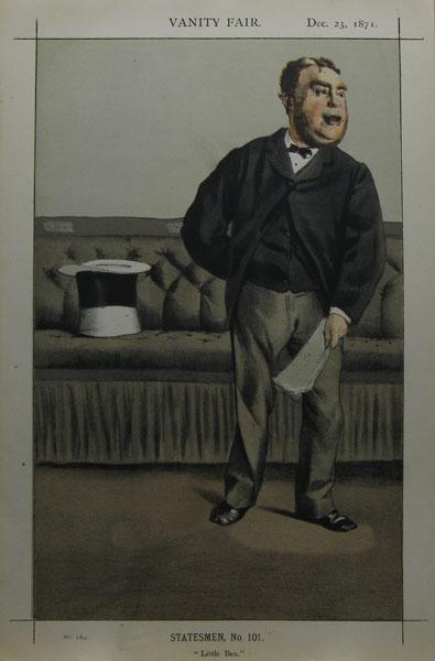 Caricature of George Cavendish Bentinck, 1871 - James Tissot